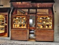 Typical Jewelry store in Ponte Vecchio, Florence