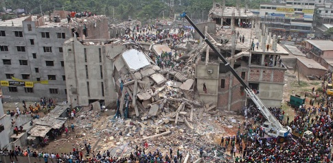 Second anniversary of the Rana Plaza building collapse